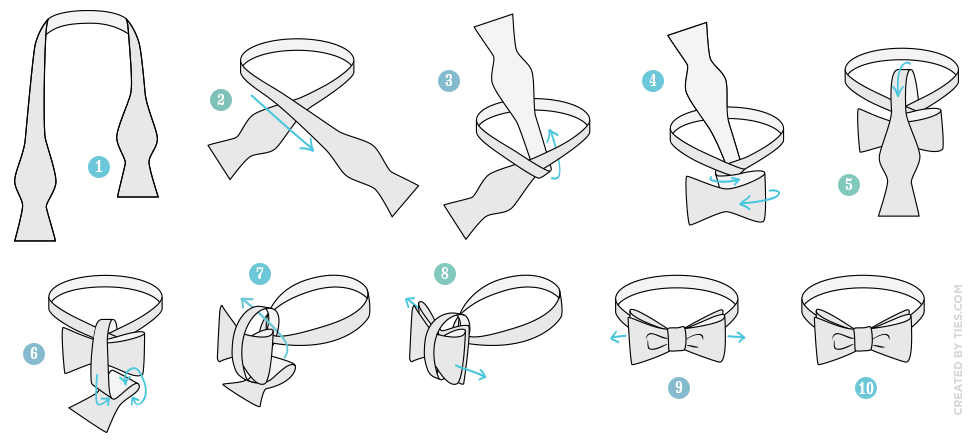 how-to-tie-the-bow-tie-knot-tying-instructions